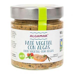 Paté vegetal com algas