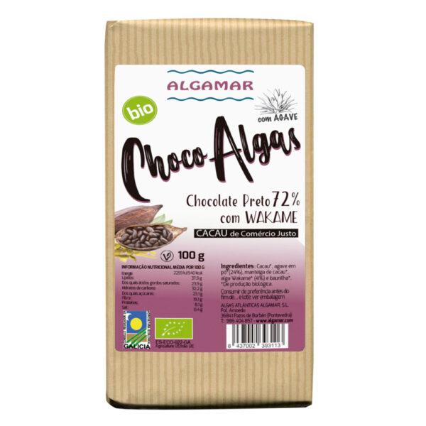 Chocolate Negro com Alga Wakame e Agavee